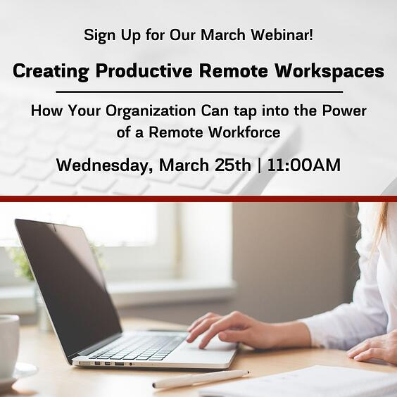 Sign Up for Our March Webinar!